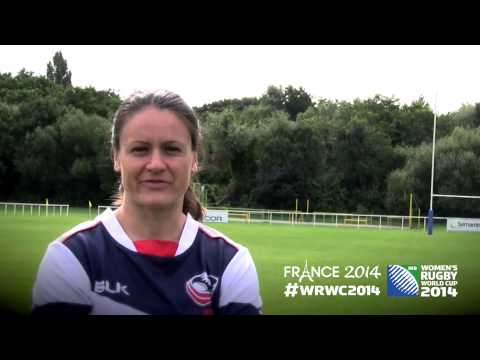 WRWC 2014 - USA Women's Eagles Roster vs Kazakhstan - Game 2
