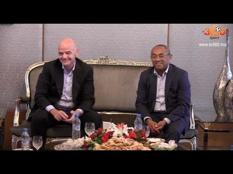 Le360.ma • Ahmad Ahmad parle du symposium de la CAF