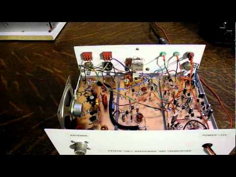 The Ugly Weekender - A Homebrew QRP Transceiver