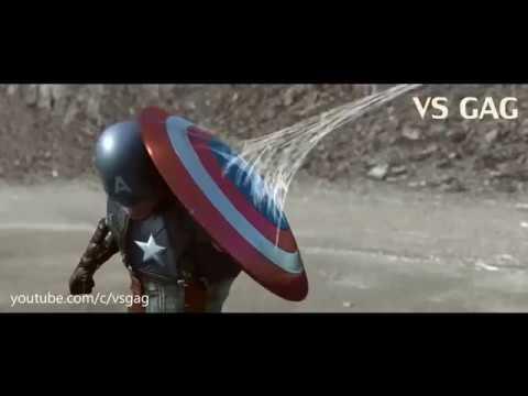 Trận chiến giữa Captian America và Iron Man Civil war phần 2 Nhện nhọ xuất hiện thumbnail