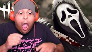 "NEW KILLER! GHOSTFACE MADE ME ""SCREAM"" A LOT!! NO? OKAY. [DEAD BY DAYLIGHT]"