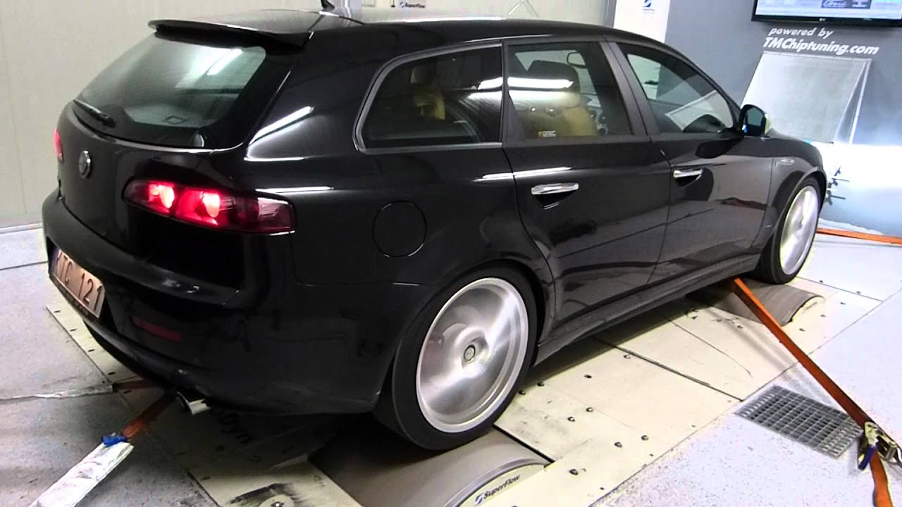 alfa romeo 159 1750 tbi dyno t m chiptuning youtube. Black Bedroom Furniture Sets. Home Design Ideas