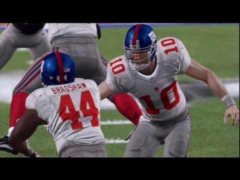 Madden 13 - Madden Moments - Super Bowl Victory - Giants vs Patriots