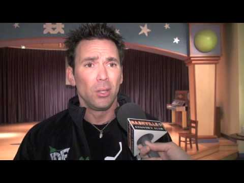 Jason David Frank Interview at Vanderbilt Children's Hospital