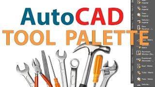 AutoCAD TOOL PALETTE  CUSTOMIZING AUTOCAD TOOL PAL