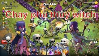 NMT | Clash of clans | Thử thách đánh chay phù thủy Witch