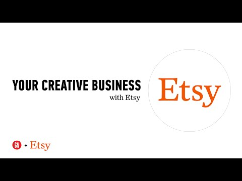 Start Your Creative Business with Etsy