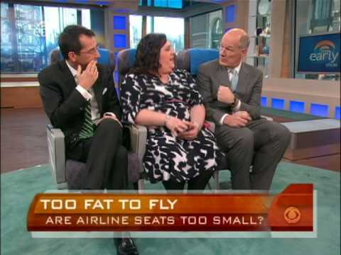 Airline Seats Too Small?
