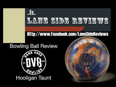 DV8 Bowling Hooligan Taunt Review by Lane Side Reviews