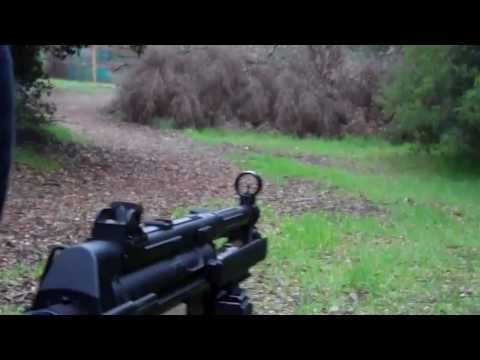 AIRSOFT WAR Pleasent Hill CA (M16 M4 AK MP5)