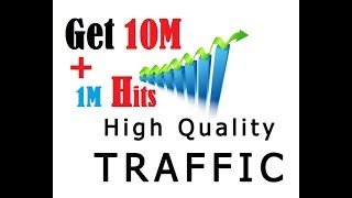 Get 10,00,000 Free Traffic To Your Website And 1 Million Hits | Targeted Visitors Secrets Way