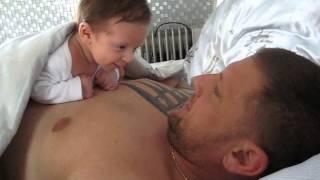 Dětská řeč od miminka (vokalické zvuky džavotanie)