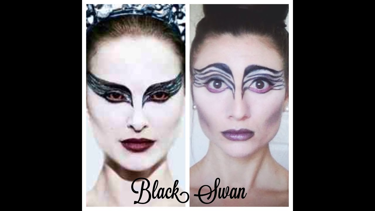 Diy Halloween Costumes Black Swan Black Swan Makeup Diy