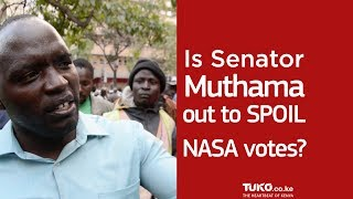 Will Muthama ruin the votes for NASA during Kenyan presidential elections in 2017?