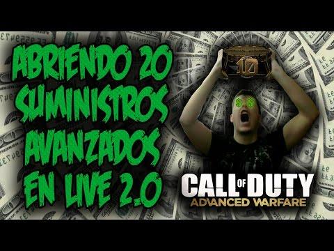 ¡ABRIENDO 20 SUMINISTROS AVANZADOS EN LIVE 2.0! (EP. 19) - COD ADVANCED WARFARE