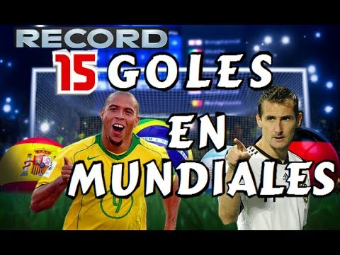 MÁXIMO GOLEADOR DE MUNDIALES| TODOS LOS GOLES| RONALDO VS KLOSE| 2014|