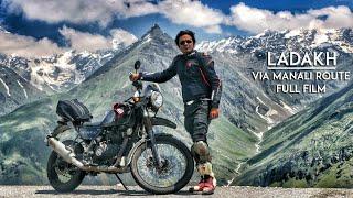 Ladakh via Manali on Royal Enfield Himalayan Odyssey 2017  | Short Film | RWR