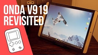 Onda V919 Air Revisited Review (Gold Dual OS Tablet)