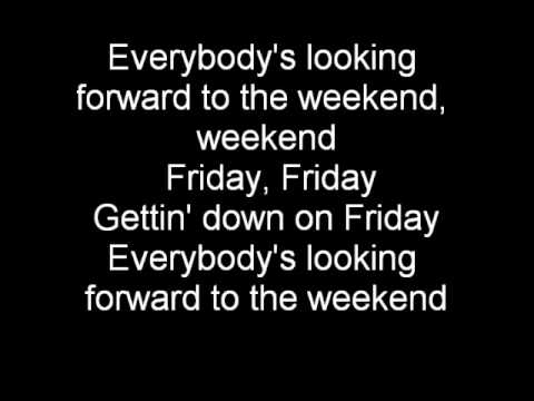 Rebecca Black - Friday (Lyrics) (ANNOYING SONG)