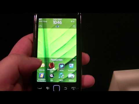 English: Preview BlackBerry Torch 9860