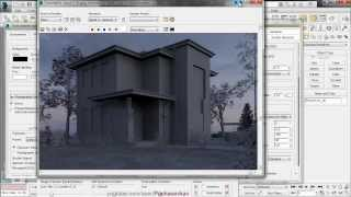 Autodesk 3ds Max Design 2014 - HDRI (mental ray)