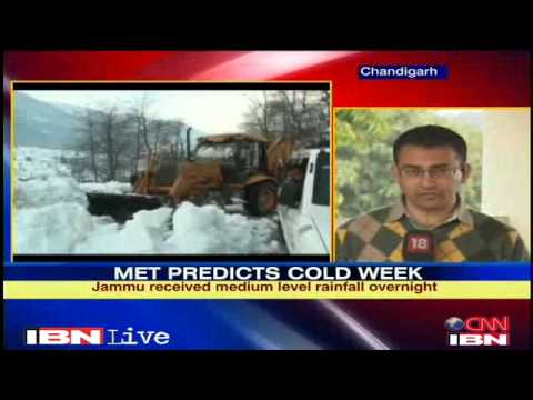 Srinagar-Jammu highway closed due to snowfall