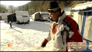 """Wintercamping Tirol """"ZDF-Reportage"""" live vom Aktiv-Camping Prutz / Tirol"""