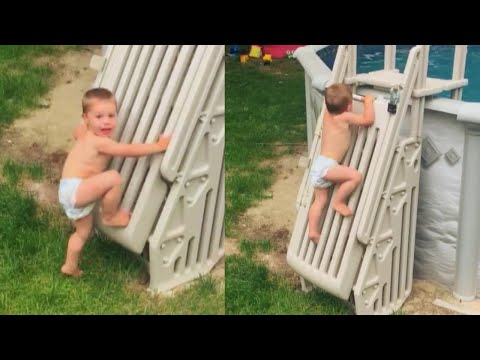 2-Year-Old Scales Locked Swimming Pool Fence and Unlocks Safety Gate