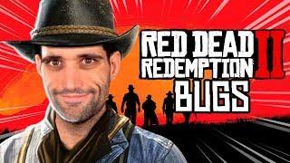 Os maiores BUGS e GLITCHES mais ENGRAÇADOS de Red Dead Redemption 2 🤠😵🤯