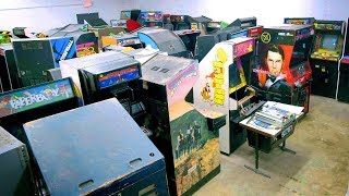 World's Biggest Private Arcade Game Collection! Part 1