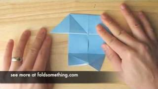 How To Make An Origami Pajarito (small Bird) From The Pig (boat / Windmill) Base
