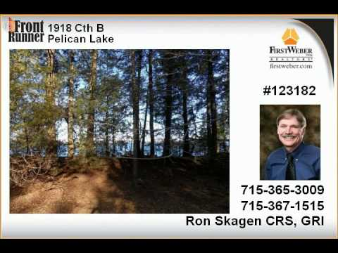 Pelican Lake WI Real Estate for Sale