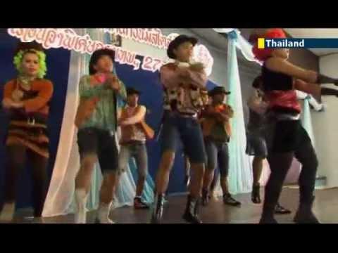 Bizarre Bangkok boogie: prison inmates compete in Gangnam Style contest