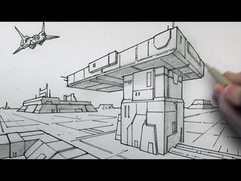how to draw a book in 2 point perspective