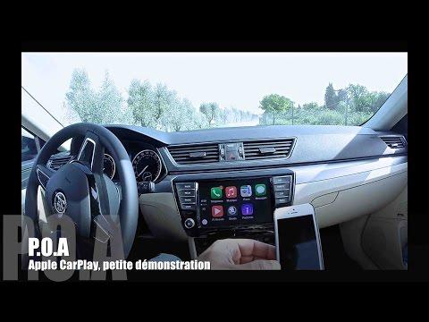 Apple CarPlay demonstration (P.O.A)