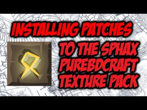 Installing Mod Patches Into Sphax Texture Pack (Tekkit, Yogbox Etc.)