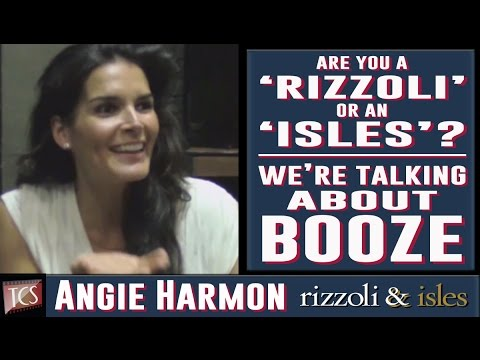 Rizzoli & Isles: Season 5 Set Visit - Angie Harmon, Sasha Alexander, Jordan Bridges