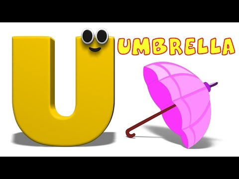 Phonics Letter- U song Kids Tv Nursery Rhymes S01EP189