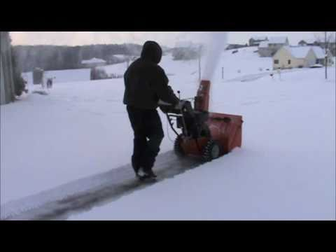Ariens Snow blower in action Review