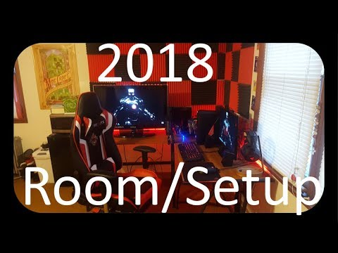 Room Tour/Setup Tour 2018 !!!!