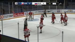 Россия до 17 : Чехия до 17