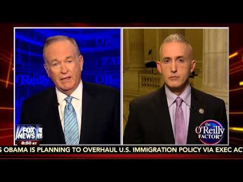 Rep. Gowdy Responds to Obama's Potential Executive Action on Immigration