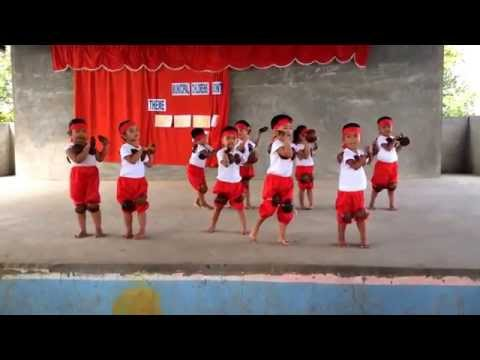 Kids Maglalatik Dance. Sto.niño Day Care Center Masantol, Pampanga. video