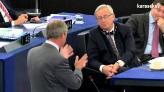 Nigel Farage on election process of Jean-Claude Juncker