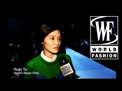 Front Row Shiatzy Chen Spring-Summer 2015 Paris Fashion Week