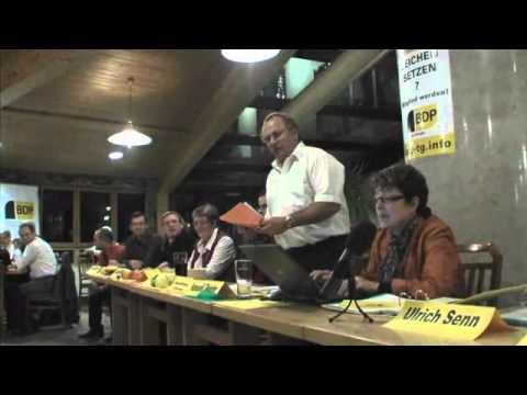 Gründung der BDP Kanton Thurgau - 2008