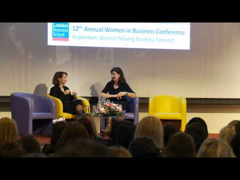 Women in Business Conference: A Conversation with Christine Langan & Sarah Sands 2 March 2012