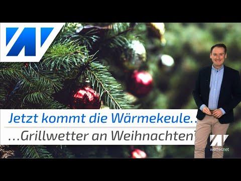 Neue WГrmekeule bringt eher Grillwetter statt weiГe Weihnachten!