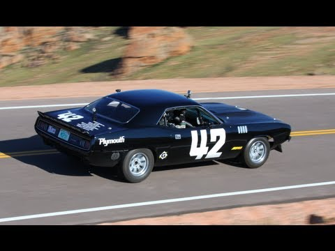 1971 Plymouth 'Cuda Conquers Pikes Peak! - HOT ROD Unlimited Episode 16