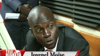 VIDEO: Haiti - Jovenel Moise vizite Radio Kiskeya 15 Jou apre Bandi tire sou Radio a